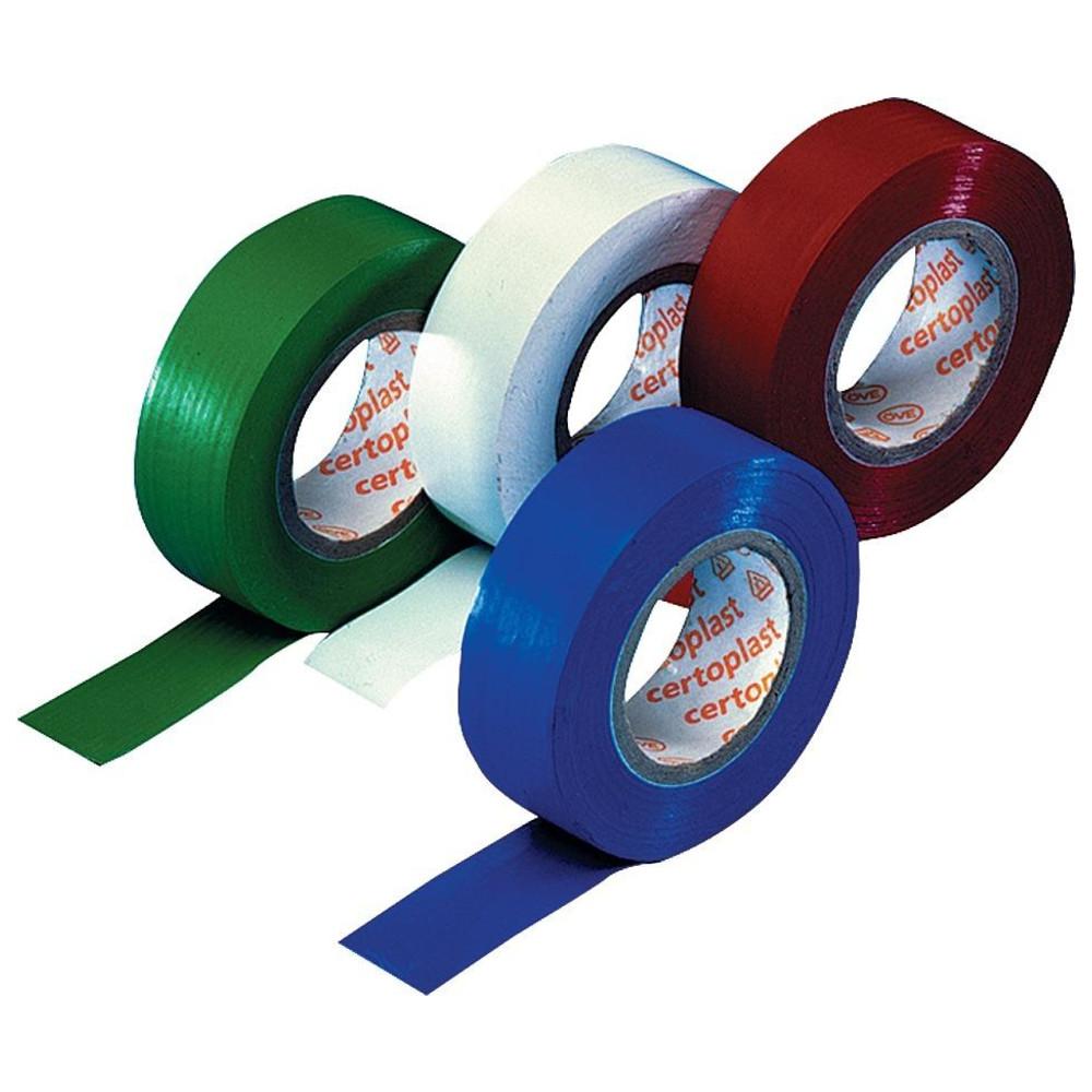 Cimco PVC-Isolierband schwarz 50 mm x 20 m DIN EN 60454