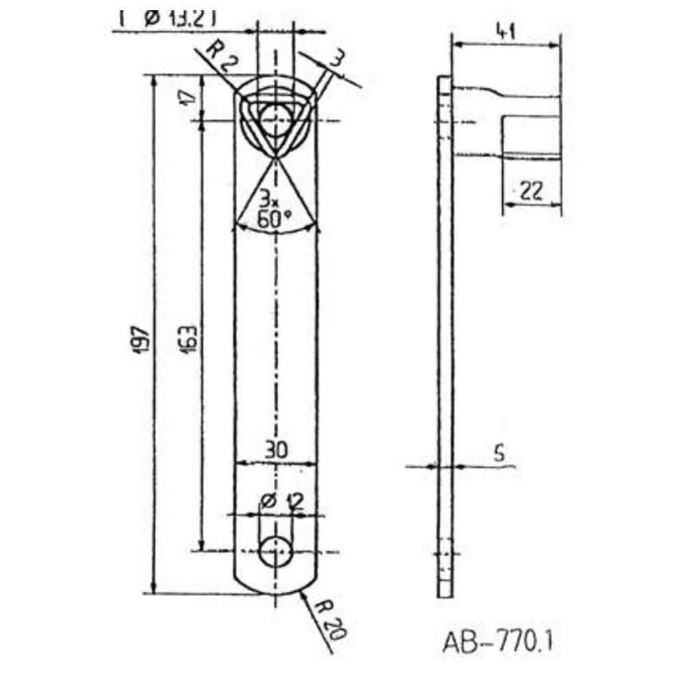bever klophaus dreikantschl ssel 17 mm d nges. Black Bedroom Furniture Sets. Home Design Ideas
